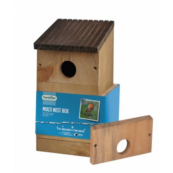 Multi nest box FSC Wild Bird Nest Boxes British Bird Food - UK wild bird food suppliers, bird seed and garden wildlife
