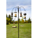 Select Bird Station Pole Systems and Hooks British Bird Food - UK wild bird food suppliers, bird seed and garden wildlife