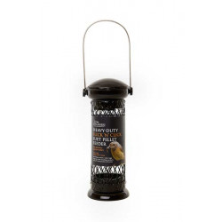 Heavy duty Flick 'n Click suet pellet feeder