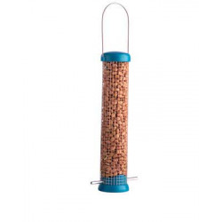 Bird lovers peanut feeders
