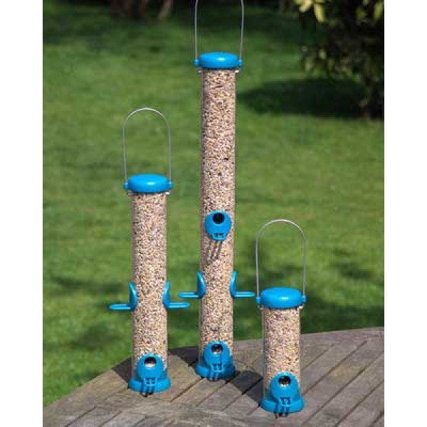 Bird Lovers seed feeders at British Bird Food