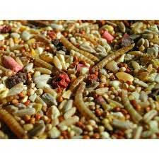 Exclusive bird food mixes