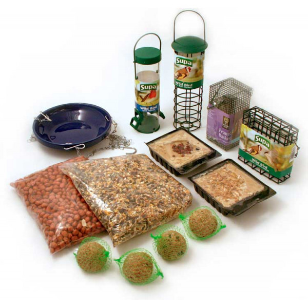 Bronze Gift Pack Bird Feeding Gifts and Vouchers British Bird Food - UK wild bird food suppliers, bird seed and garden wildlife