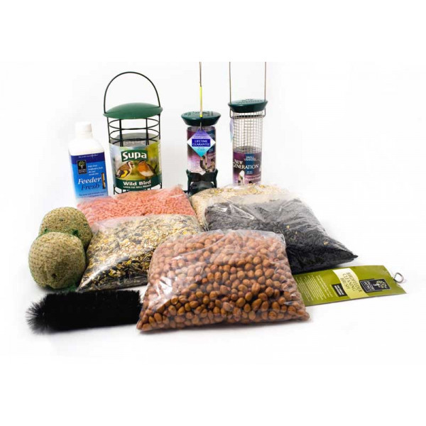 Gold Gift Pack Bird Feeding Gifts and Vouchers British Bird Food - UK wild bird food suppliers, bird seed and garden wildlife