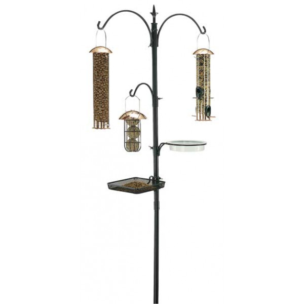 Gardman Premium feeding station kit Pole Systems and Hooks British Bird Food - UK wild bird food suppliers, bird seed and garden wildlife