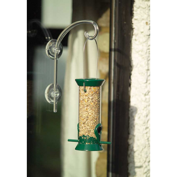 High Strengh Window Hook Wild Bird Feeding Accessories British Bird Food - UK wild bird food suppliers, bird seed and garden wildlife