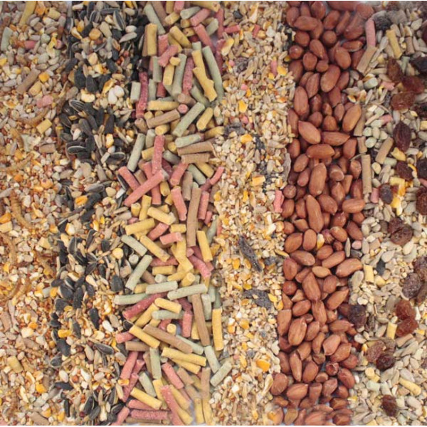 Wild bird variety pack 18kg (6x3kg) Wild Bird Seed Mixes British Bird Food - UK wild bird food suppliers, bird seed and garden wildlife