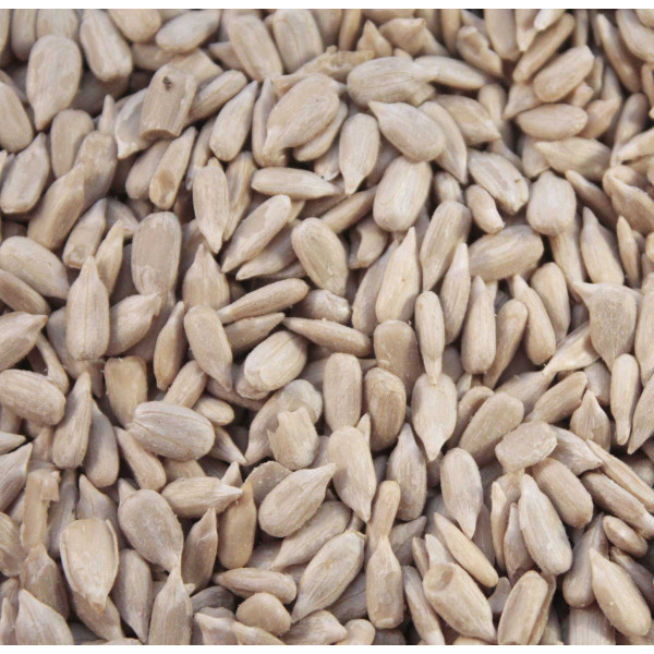 Sunflower Hearts For Birds Wild Bird Straight Seeds British Bird Food - UK wild bird food suppliers, bird seed and garden wildlife