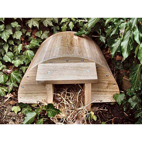 Hedgehog house Hedgehogs British Bird Food - UK wild bird food suppliers, bird seed and garden wildlife