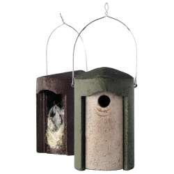 1B Woodcrete nest box