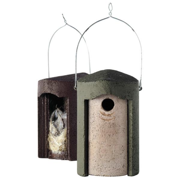 1B Woodcrete nest box Wild Bird Nest Boxes British Bird Food - UK wild bird food suppliers, bird seed and garden wildlife