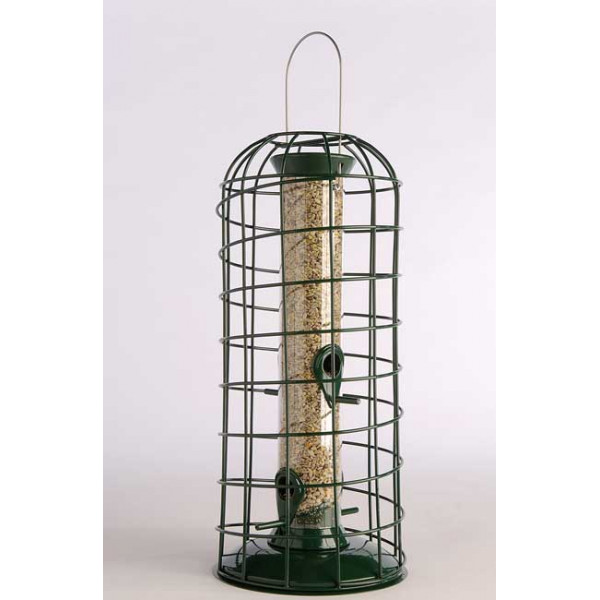 Bird feeder guardian Squirrel Proof Feeders British Bird Food - UK wild bird food suppliers, bird seed and garden wildlife