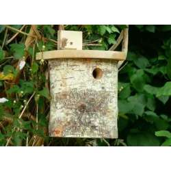 Silver Birch Tit box