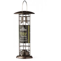 Suet ball feeder