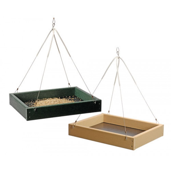 Hanging tray Ground Bird Feeders British Bird Food - UK wild bird food suppliers, bird seed and garden wildlife