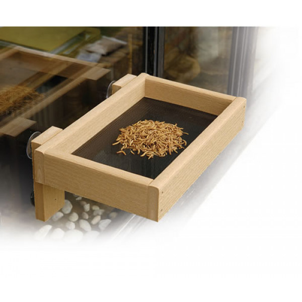 Window tray light oak Ground Bird Feeders British Bird Food - UK wild bird food suppliers, bird seed and garden wildlife