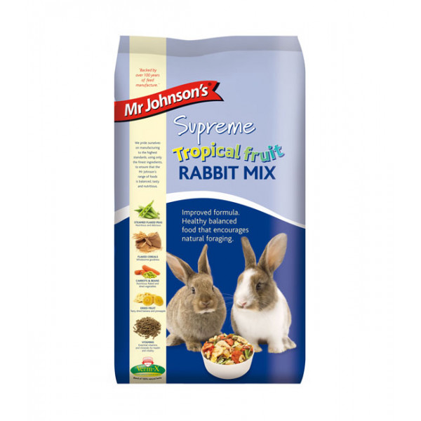 Mr Johnsons's Supreme Tropical Fruit Rabbit Mix