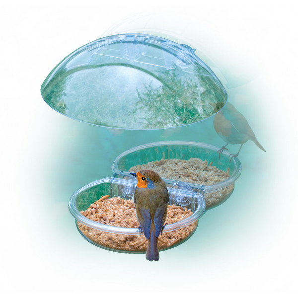 I love Robins Window Feeder Special Bird Feeders British Bird Food - UK wild bird food suppliers, bird seed and garden wildlife