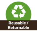 Reusable / Returnable