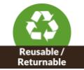 Reusable / Returnable