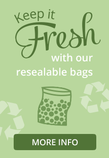 Keep it Fresh with Resealable Bags